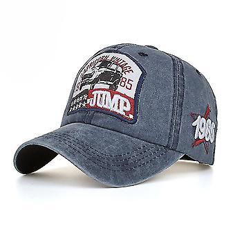 רקמה מכתב קפיצה ג'ינס בייסבול כובע סנאפבק כובעים