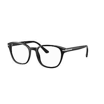 Prada VPR12W 1AB1O1 Czarne okulary