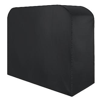 أسود s/m/l غطاء أثاث فناء الحديقة للماء يغطي مكعب طاولة الروطان في الهواء الطلق dt3082