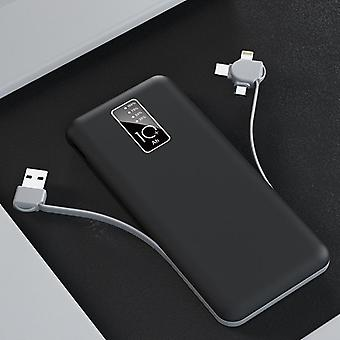 3 In 1 Power Bank Portable Charger 20000mAh Power Bank Battery
