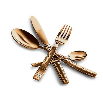 Mepra Tigre Oro 4 pcs flatware set