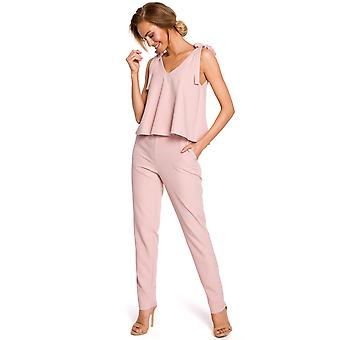 Made Of Emotion Women's M437 Jumpsuit
