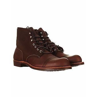"""Red Wing 8111 Heritage 6"""" Iron Ranger Boot - Amber Harness"""