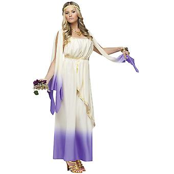Lavender Goddess Greek Purple Roman Toga Women Costume