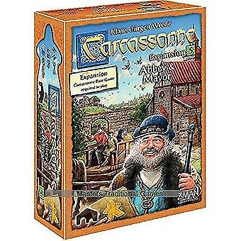 Tile games carcassonne expansion 5: abbey and mayor