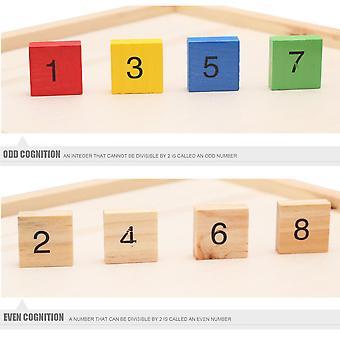 Houten 99 vermenigvuldigingstafel wiskunde speelgoed baby vroeg leren educatief speelgoed