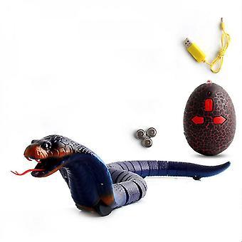 ヴェナリサ リモコン 充電可能なリアルなリアルなコブラおもちゃ