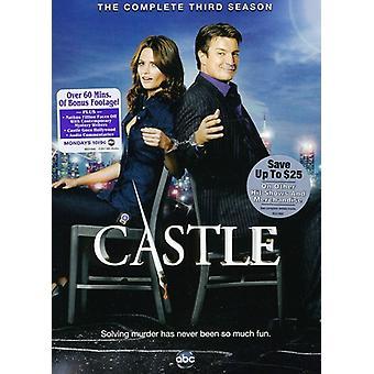 Castle - Castle: The Complete Third Season [DVD] USA import