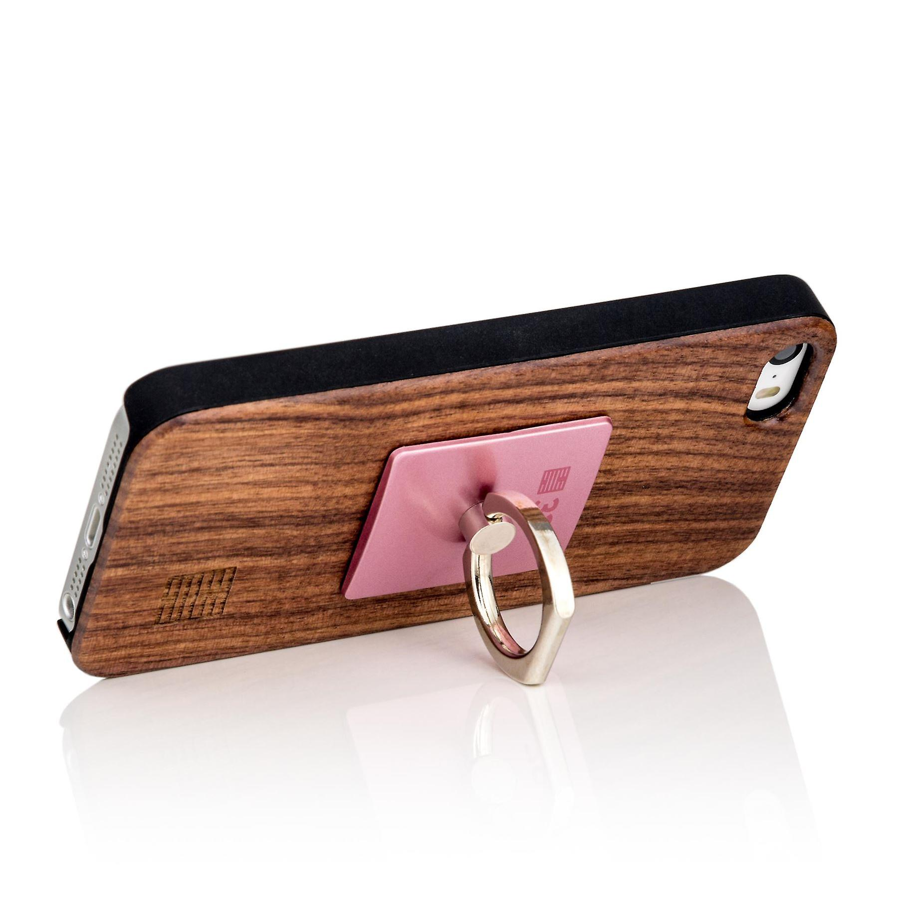 Metal ring stand phone holder - Rose Gold