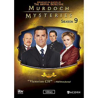 Murdoch mysterier: Sesong 9 [DVD] USA import