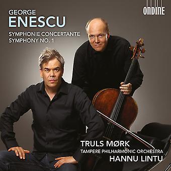 Enescu / Mork / Lintu / Tampere Po - Symphonie Concertante & Sym 1 [CD] USA import