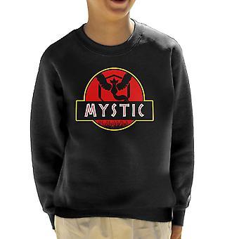 Team Mystic Jurassic Park Pokemon gå barneklubb Sweatshirt