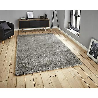 Monte Carlo Silver  Rectangle Rugs Plain/Nearly Plain Rugs