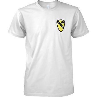 Vietnam-Patch-Effekt - US Armee 1. Kavallerie - Mens Brust entwerfen T-Shirt