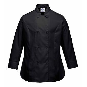 Portwest - Rachel Ladies Chefs Kitchen Workwear Jacket