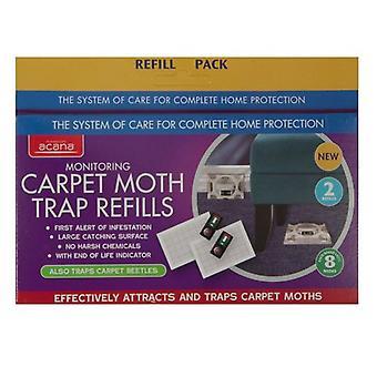 ACANA tappeto Moth trappola Refill Pack di 2 da Caraselle