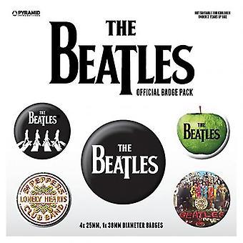 Die Beatles Taste Abzeichen Set