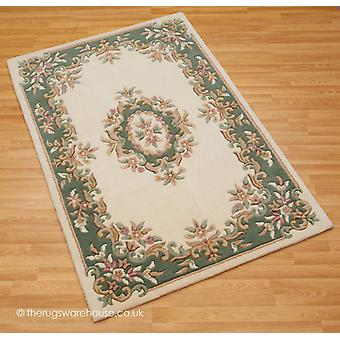 Royal Ivory grön matta