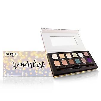 Cargo Wanderlust Eye Shadow Palette (12 x 1 x Shadow ögonskuggsborstar) - 12x0.8g/0.03oz