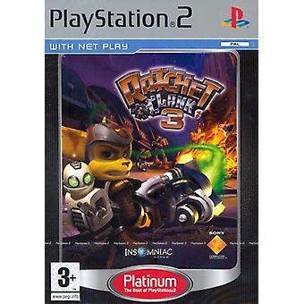 Ratchet Clank 3 Platinum (PS2) - Usine scellée