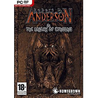 Anderson Cthulhun perintö (PC) - Uusi