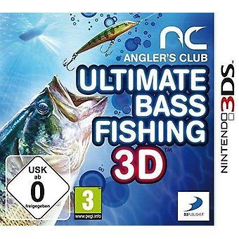 Anglers Club Ultimate Bass Fishing (Nintendo 3DS) - Novo