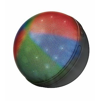 Trust Urban Dixxo Disco Orb Wireless Speaker Hands Free Lights Party Integrated MP3 Player