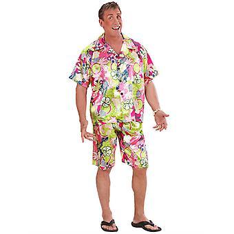 Costume homme hawaïen