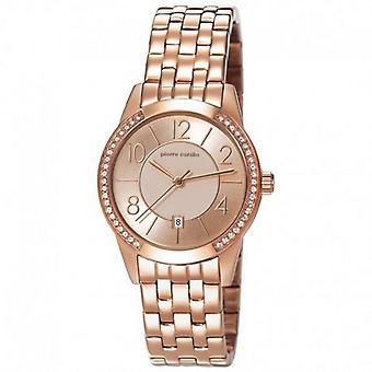 Pierre Cardin reloj reloj de pulsera Dama de la TROCA rosado PC106582F18