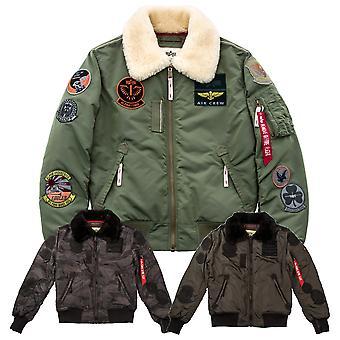 Alpha Industries Men's Winter Jacket Injector III Patch