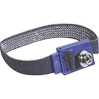 ESD wrist strap Black Bernstein 9-342-1 3 mm stud and socket
