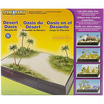 Diorama Kit-ørkenen Oasis