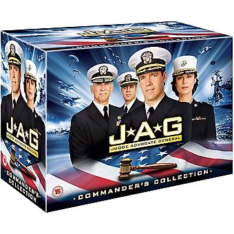 JAG Seasons 1-10 Complete Commander's Collection DVD Box Set