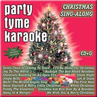 Party Tyme Karaoke - Party Tyme Karaoke: Vol. 1-Christmas Sing-Along [CD] USA import
