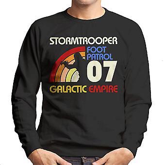 Original Stormtrooper Retro 70er Jahre Herren Sweatshirt