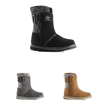 Womens Sorel Rylee Waterproof Suede Winter Snow Rain Warm Mid Calf Boots