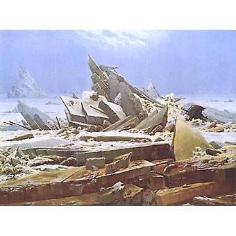 希望の残骸、キャスパー・デビッド・フリードリヒ、50x40cm