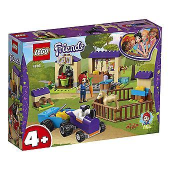 LEGO 41361 Freunde Freunde Mia's Fohlen Stall Gebäude Set