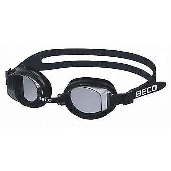 BECO Macao Swimming Goggle - Smoke Lenses - Black