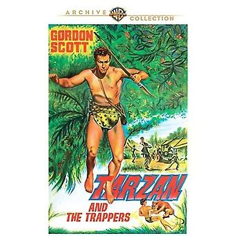 Tarzan & the Trappers [DVD] USA import
