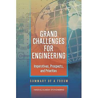 Grandi sfide per l'ingegneria: imperativi, prospettive e priorità: Riepilogo di un Forum