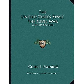 The United States Since the Civil War: een overzicht van de studie