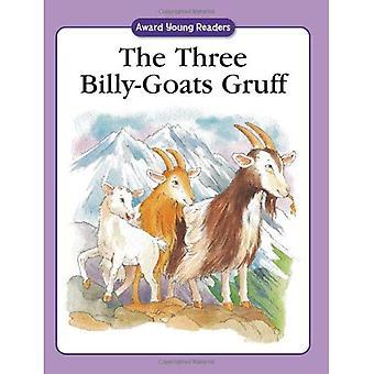 De tre Billy-goat Gruff (unga läsarna)