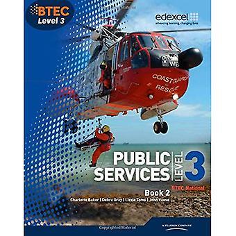 BTEC Level 3 National Public Services Student Book 2: 2