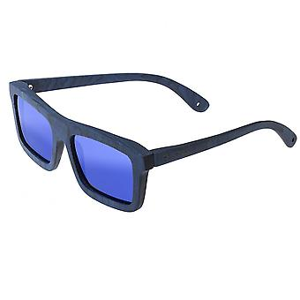 Spectrum Knox Wood Polarized Sunglasses - Blue/Blue