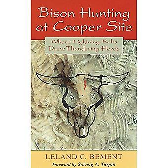 Bisonjakt på Cooper nettsted: hvor lynnedslag trakk tordnende flokker