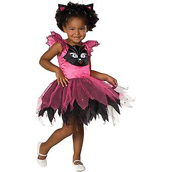Söt Kitty barn kostym