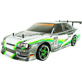 Green Nissan Skyline Electric RC Drift Car - 2.4GHz