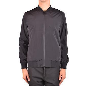 Paolo Pecora Ezbc059042 Men's Black Nylon Outerwear Jacket