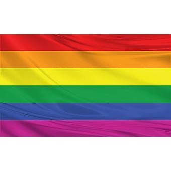 Regenboog vlag 3 ft x 5 ft Polyester stof onderdaan van een land